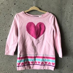 Pink jumping beans sweater